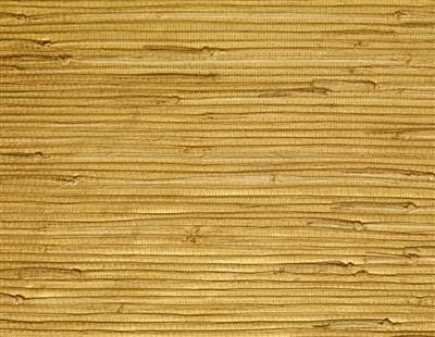 Natural Jute Gold Metallic Back Grasscloth